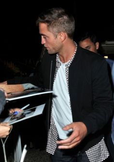 """Robert Pattinson  (""""The Rover' Premiere Dinner during the Cannes Film Festival"""")"""