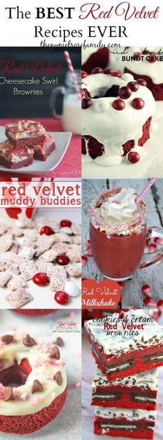 The BEST Red Velvet Recipes EVER | The NY Melrose Family