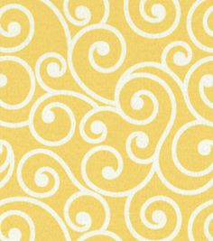 Outdoor Fabric-Better Homes & Garden Ornament Daffodil
