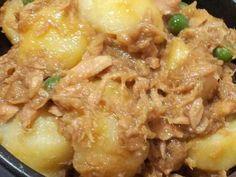 簡単惣菜!じゃがいもとツナの煮物♪の画像