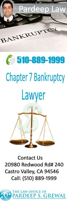 Pardeep S. Grewa l- Chapter 7 Bankruptcy Lawyer Castro Valley