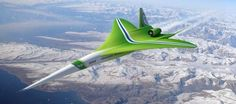 Two new airplanes aim to help air passengers break the sound barrier once again.now this is the way to travel..