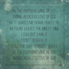 Reckless Love by Bethel
