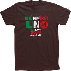 Numero Uno Custom Spanish Club Español Espanol T-shirt Tee High School Design