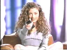 Clairol Glints TV Ad from 1994 featuring Rebecca Gayheart Rebecca Gayheart, Teenage Wasteland, Tv Ads, Tv Commercials, 90s Fashion, Curls, Curly Hair Styles, Beautiful Women, Actresses