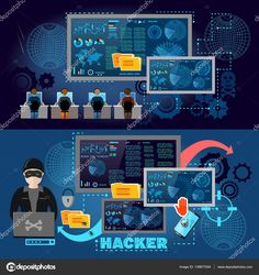 depositphotos_138877044-stock-illustration-hackers-cyber-army-hacking-and.jpg (1600×1700)