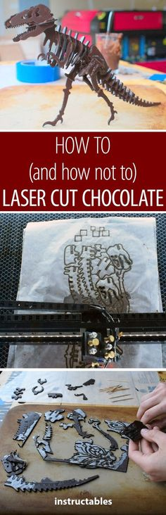 How to (and How Not To) Laser Cut Chocolate