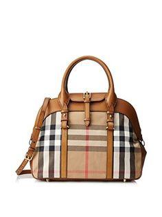 Burberry Women's Millverton Handbag, Brown