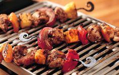 Grilled Jerk Chicken Kabobs Recipe