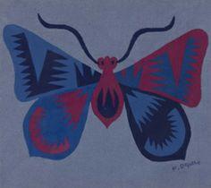 Fortunato Depero - Farfalla Zig-Zag (cuscino, 1920)