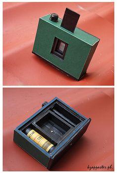 handmade medium format pinhole camera by kzappaster, via Flickr
