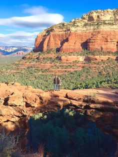 Hiking Devil's Bridge in Sedona, Arizona