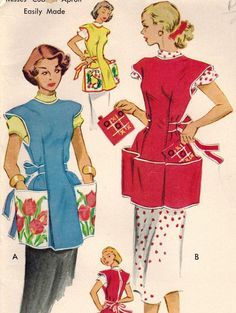1950s McCall's 1713 Vintage Sewing Pattern by midvalecottage, $12.00