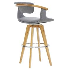 Lumisource Symphony Mid Century Modern Counter Stool In
