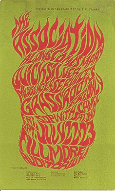 First psychedelic rock poster?