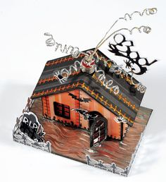Paper Wishes® Weekly Webisodes, Scrapbooking Videos I love this little haunted house. This entire webisode was so much fun and so creative!