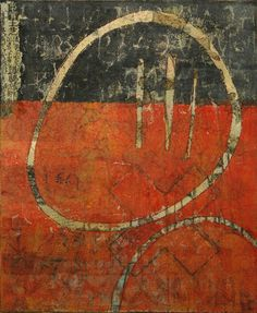 """Restoring Faith, by Anne Moore, monotype, 11""""X 9"""""""