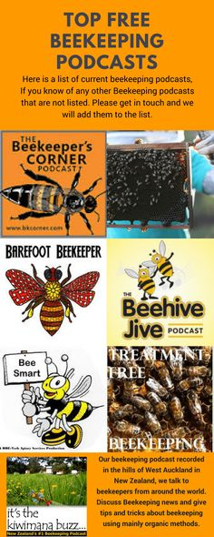 Here is a list of current beekeeping podcasts, we think are useful. If you know of any other Beekeeping podcasts that are not listed. Please get in touch and we will add them to the list. #beekeepingchecklist