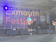#exmouthfestival #guitarplaying #festivalmusic