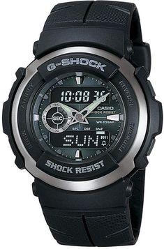 G SHOCK Casio G-Shock Street Rider Mens Analog/Digital Sport Watch G300-3AV