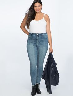 Eloquii Olivia Skinny Jeans : Eloquii Olivia Skinny Jeans #Eloquii #Olivia #Skinny