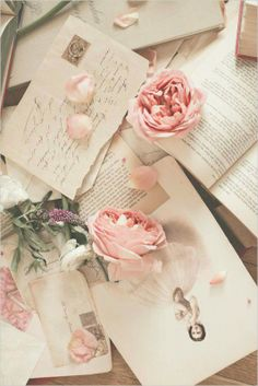 ...and for a moment there was nothing else than your love letters and the smell of sweet roses...
