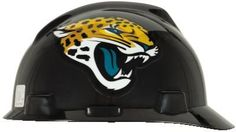 MSA NFL Ratchet Suspension Hardhats - Jacksonville Jaguars  http://allstarsportsfan.com/product/msa-nfl-ratchet-suspension-hardhats/?attribute_pa_color=jacksonville-jaguars  Great way to show your team spirit for your favorite NFL team Perfect to wear on the job or at the game Makes a great gift for any football fan