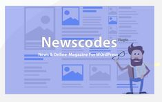 Newscodes plugin - News and online Magazine Elements for Wordpress