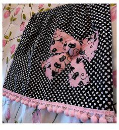 Fancy Kitties by FreckledChicken on Etsy, $26.00