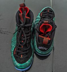 "Nike Air Foamposite One ""Gone Fishing"" Releasing After NBA Playoffs - SneakerNews.com"