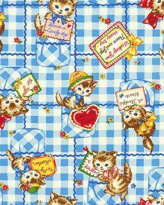 Japanese Import - Dear Little World - Pocket Kitty - Aster Blue