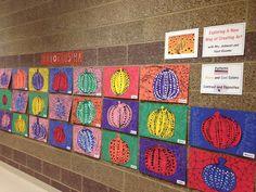 candice ashment art: Get your Yayoi Kusama polka dot Pumpkin Color Art Lessons, Art Lessons For Kids, Art Lessons Elementary, Halloween Art Projects, Fall Art Projects, Yayoi Kusama Pumpkin, First Grade Art, Pumpkin Art, Ecole Art