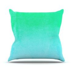 KESS InHouse Hawaiian by Monika Strigel Throw Pillow Size: