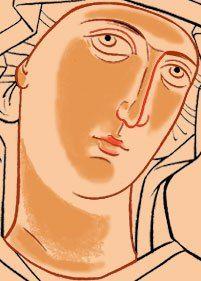 Oblicze Matki Bożej Visit the post for more. Religious Images, Religious Icons, Religious Art, Byzantine Icons, Byzantine Art, Religious Paintings, Catholic Art, Art Icon, Painting Process