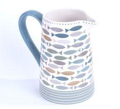 Shoreline Ceramic Large Jug