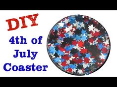 ▶ Fourth of July Coaster Another Coaster Friday Craft Klatch - YouTube