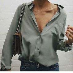 Moda Femenina 2019 Blusas Ideas For 2019 Mode Outfits, Casual Outfits, Fashion Outfits, Womens Fashion, Fashion Trends, Casual Jeans, Office Outfits, Denim Jeans, Fashion Tips