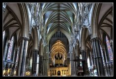 Lincoln cathedral - my favourite English cathedral, impressive as a whole and in its detail