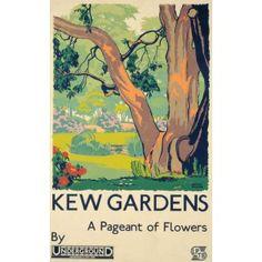 Kew Pageant Tea Towel