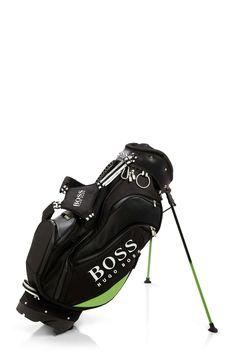 Hugo Boss 'Goltigo' Golf Bag with Stands   mens golf bag   athletic   sports   golf   mens style   wantering http://www.wantering.com/mens-clothing-item/goltigo-golf-bag-with-stands/aeywU/
