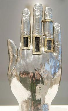 Reliquary hand, Belgium, 1250.