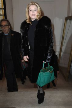Peek into the Front Row of Paris Couture Week. Click through to see all of the best-dressed A-Listers attending the shows.