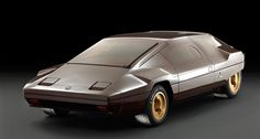 The 1978 Lancia Sibilo concept was Gandini's Golden Brown | Classic Driver Magazine