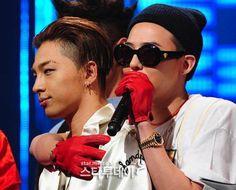 BIGBANG テヤン & GD (7日、Mカウントダウン)