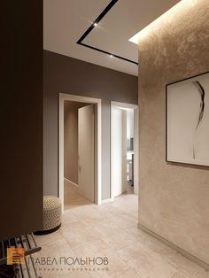 Фото холл из проекта «Дизайн двухкомнатной квартиры 80 кв.м. в современном стиле, ЖК «Duderhof Club»»