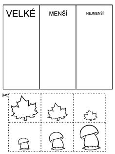 Fall Crafts, Crafts For Kids, Sudoku, Cut And Paste Worksheets, School Readiness, Too Cool For School, Autumn Activities, Working With Children, Kindergarten Worksheets