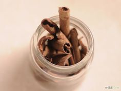 """How to Get the Health Benefits of Cinnamon. Cinnamon (Cinnamomum velum or C. cassia) has long been considered a """"wonder food"""" in various cultures and science has shown that its active oil components such as cinnamaldehyde, cinnamyl. Pinterest Gratis, Healthy Life, Healthy Living, Cinnamon Health Benefits, Skin Food, Health And Wellness, Spices, Remedies, Ice Cream"""