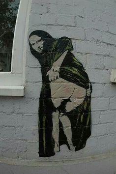 Bansky street art. #banksy #streetart