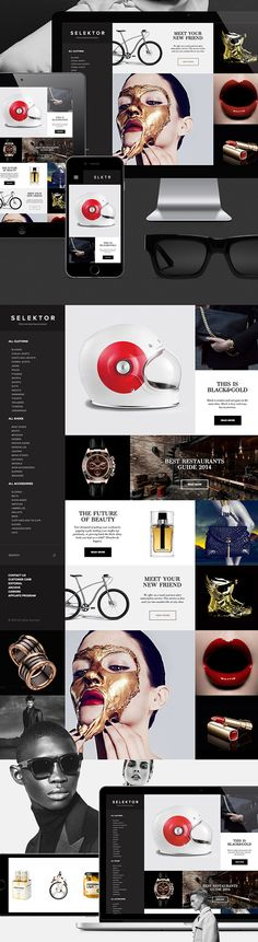 Web design inspiration | #1163