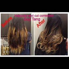 Cut and Color Ombre Correction by Guy Tang